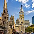 Philadelphia City Hall  by Susan Candelario