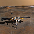 Phoenix Mars Lander by Stocktrek Images