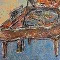 Piano Study 1 by Anita Burgermeister