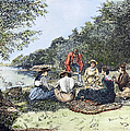 Picnic, 1885 by Granger