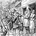 Pilgrims: Thanksgiving, 1621 by Granger