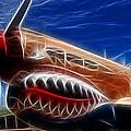 Plane Flying Tigers by Paul Ward