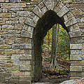 Poinsett Bridge With Gothic Arch Of Stone by John Arnaldi