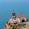 Point Reyes Lighthouse In California 7d15989 by Wingsdomain Art and Photography