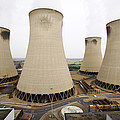 Power Station Cooling Towers by Colin Cuthbert