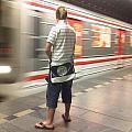 Prague Metro by Nimmi Solomon