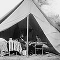 President Lincoln And Gen. George B by Everett