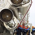 Proton-m Rocket Before Launch by Ria Novosti