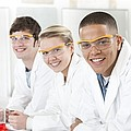 Pupils In A Science Lesson by