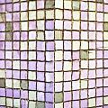 Purple Tiles by Tom Gowanlock