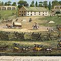 Quaker Meeting, 1811 by Granger