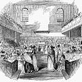 Quaker Meeting, 1843 by Granger