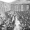 Quaker Meeting by Granger
