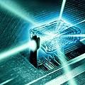 Quantum Computer Core by Richard Kail
