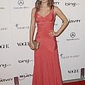 Rachel Bilson Wearing A Zac Posen Dress by Everett