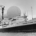 Radio Antennae On A Soviet Ship by Ria Novosti