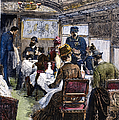 Railroad: Dining Car, 1880 by Granger