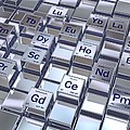 Rare Earth Metals, Conceptual Image by David Mack