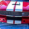 Red 1966 Ford Mustang Shelby by James BO  Insogna