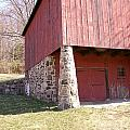 Red Barn by Leroy McLaughlin