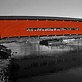 Red Covered Bridge by Sally Weigand