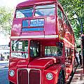 Red London Bus by Dawn OConnor