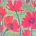 Red Poppies by Berta Barocio-Sullivan