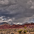 Red Rock Storm by Daniel Milligan