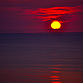 Red Sunset by Debbie Karnes