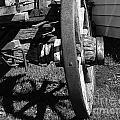 Retired Wagon by Al Bourassa