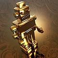 Retro Robot, Artwork by Victor Habbick Visions