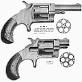 Revolvers, 19th Century by Granger