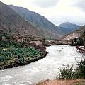 River Urubamba Through The Sacred Valley Of The Incas by Ronald Osborne