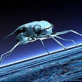 Robotic Fly, Artwork by Victor Habbick Visions