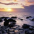 Rocks On The Beach, Giants Causeway by The Irish Image Collection