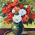 Roses by Ingrid Dohm