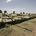 Russian T-54 And T-55 Main Battle Tanks by Terry Moore
