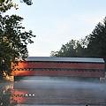 Sachs Covered Bridge  Near Gettysburg by Bill Cannon