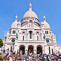 Sacre Coeur Basilica Paris France by Jon Berghoff