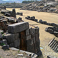 Sacsayhuaman Ruins In Cusco by Carol Ailles
