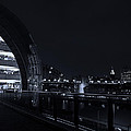 Sage Gateshead At Night by David Pringle
