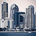 San Diego Skyline by Paul Velgos