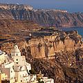 Santorini by Brian Jannsen