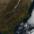 Satellite View Of The Southeastern by Stocktrek Images