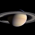 Saturn by Stocktrek Images
