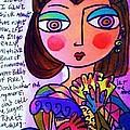 Scarlett O'hara by Sandra Silberzweig