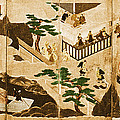 Scenes From The Tale Of Genji by Photo Researchers