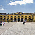 Schonbrunn Palace - Vienna by Jon Berghoff