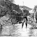 Scotland: Fishing, 1880 by Granger