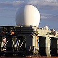 Sea Based X-band Radar Dome Modeled by Michael Wood
